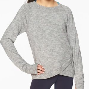 Athleta Girls Cross my Heart Soft Sweatshirt